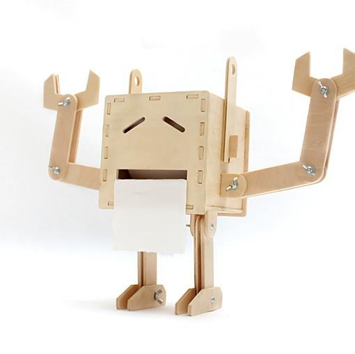 DIY Robot Tissue Box