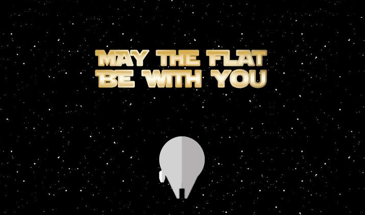 flat star wars icons