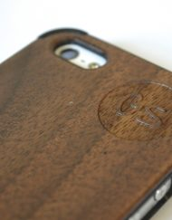 Walnut iPhone 5 Case