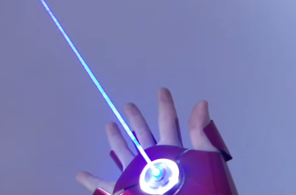 Dual Laser Iron Man Glove