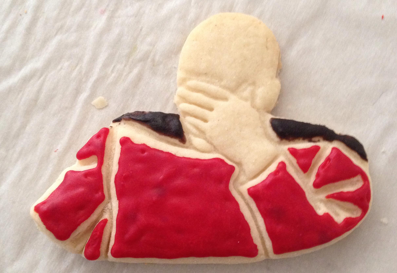 custom geeky cookies