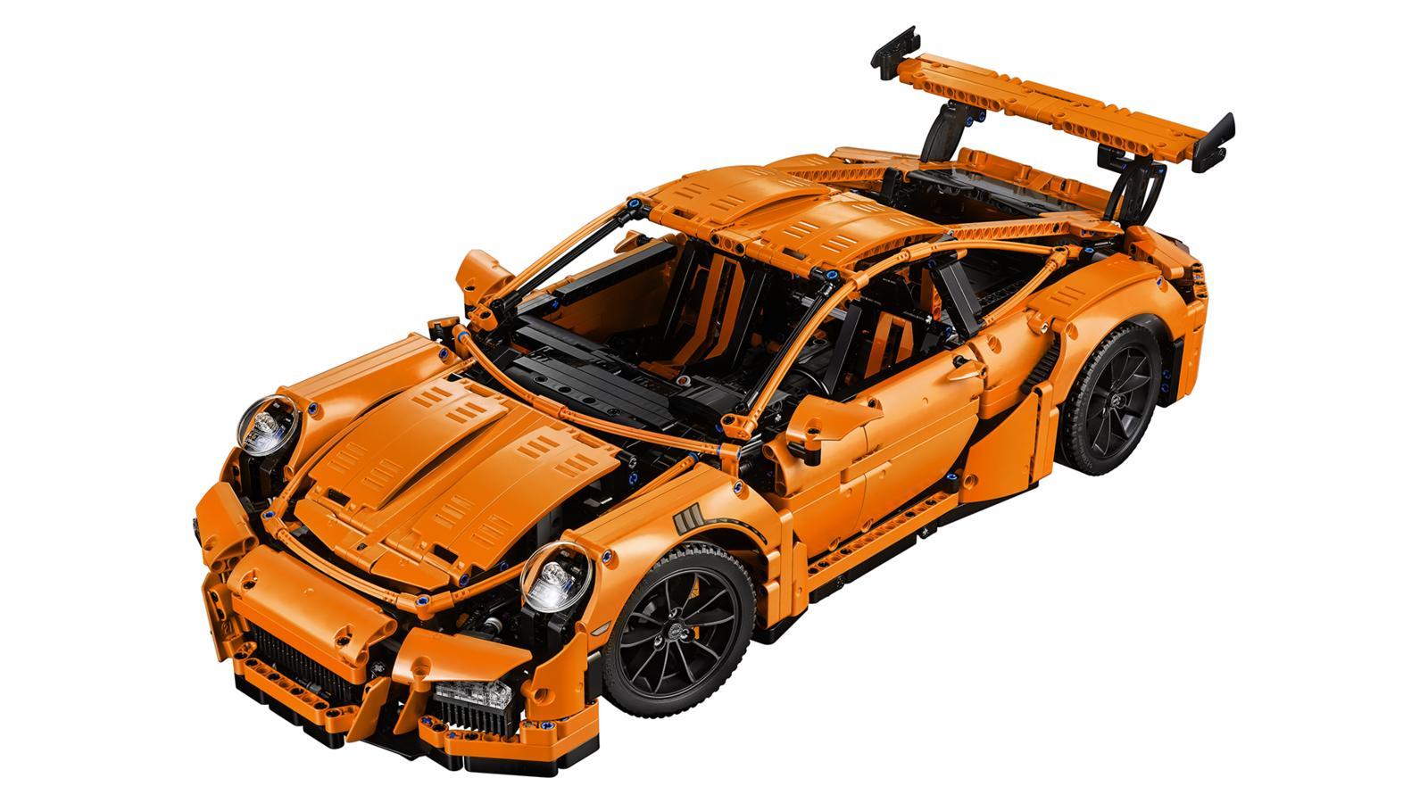 Porsche 911 GT3 RS LEGO Set