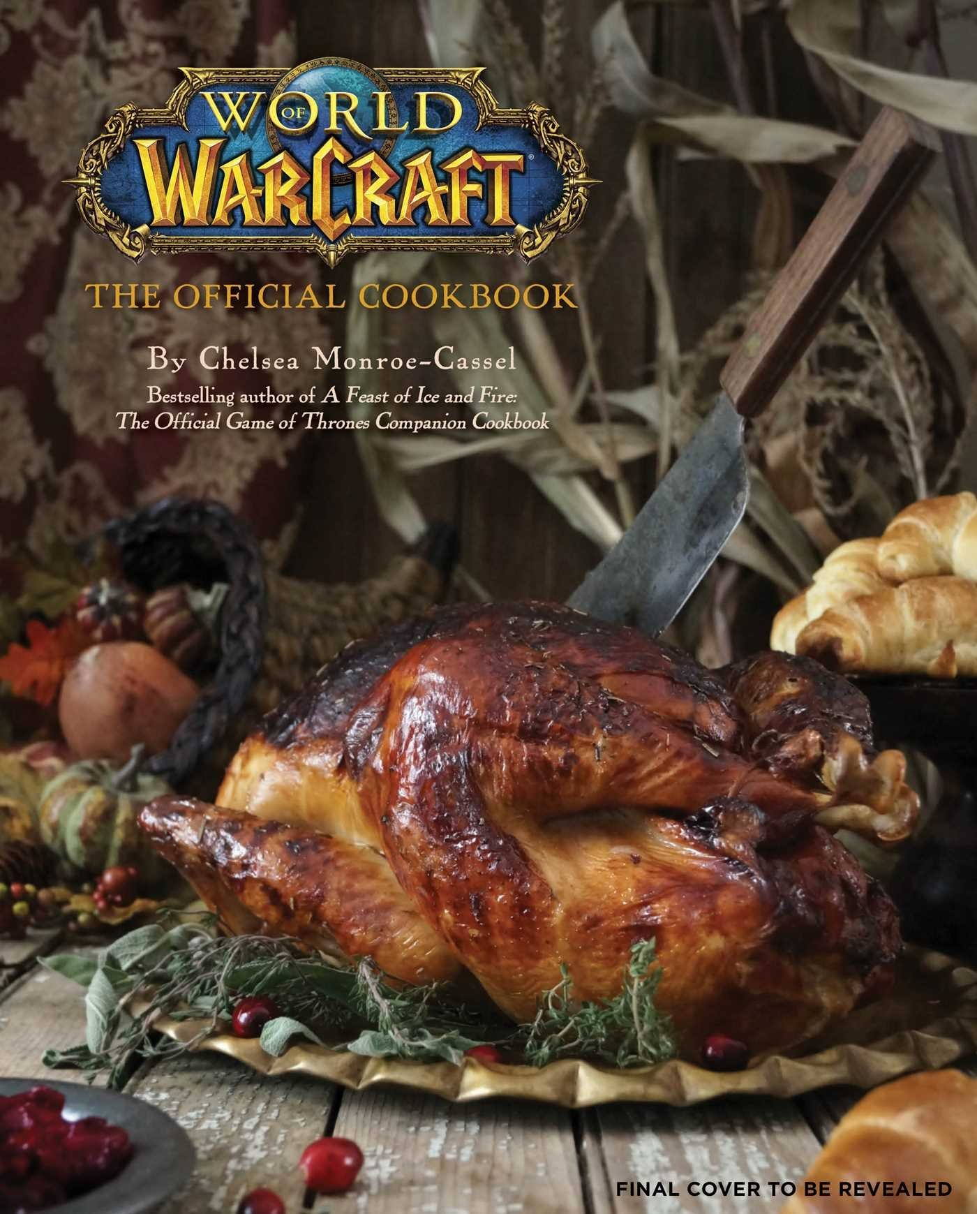 world of warcraft official cookbook cover