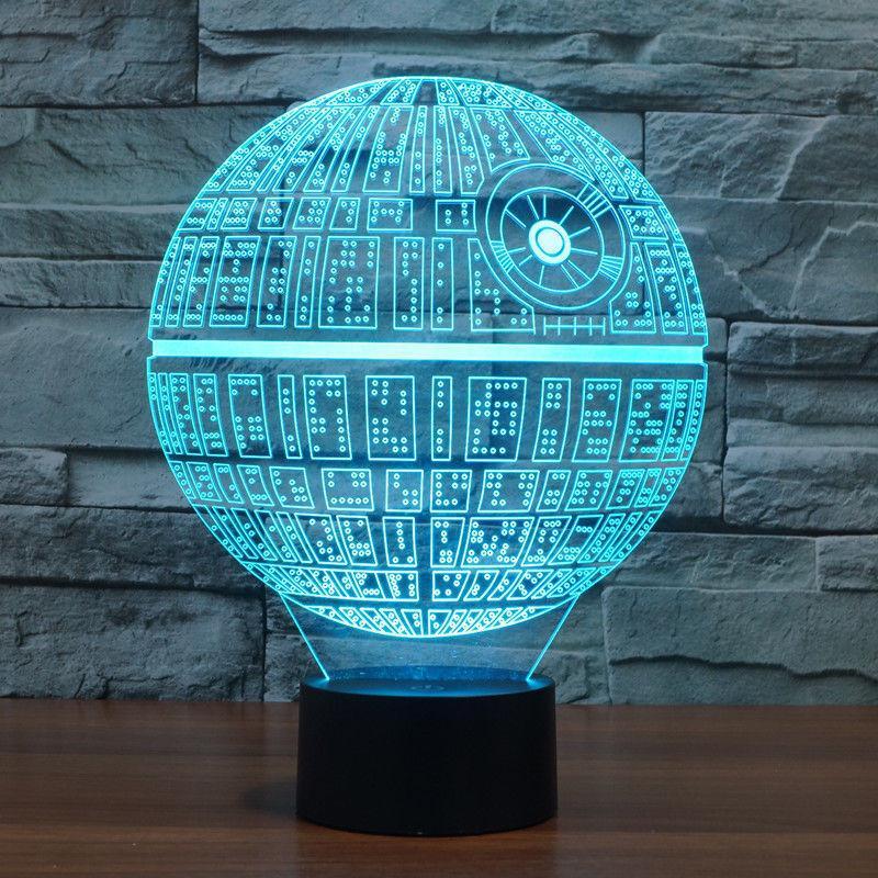 star wars 3d lamp