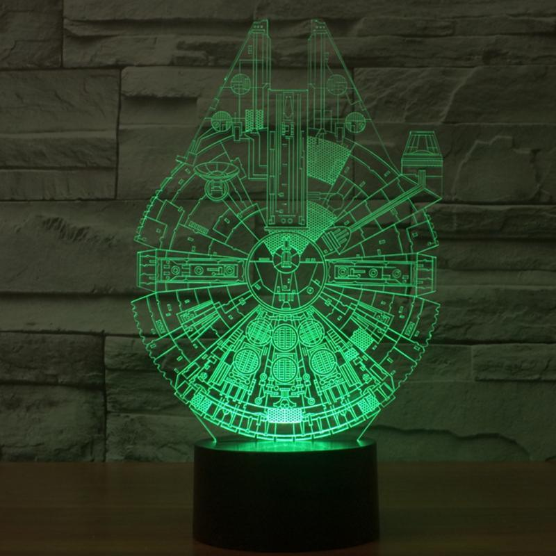 3d star wars lamps