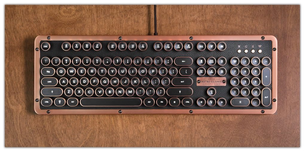 vintage typewriter usb keyboard